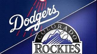 Los Angeles Dodgers Vs. Colorado Rockies Live Stream & Play By Play
