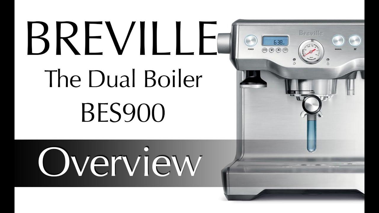Breville The Dual Boiler Espresso Machine Preview