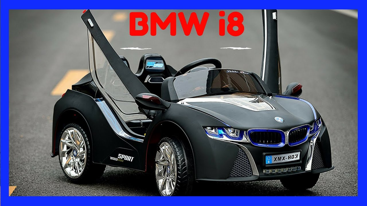 2016 exclusive bmw i8 style ride on cars for kids with remote control black
