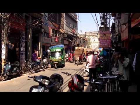 India some sights around Old Delhi