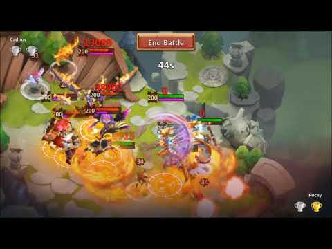 Does ATHENE Make The CUT In POCAY's Arena And LBF? Castle Clash