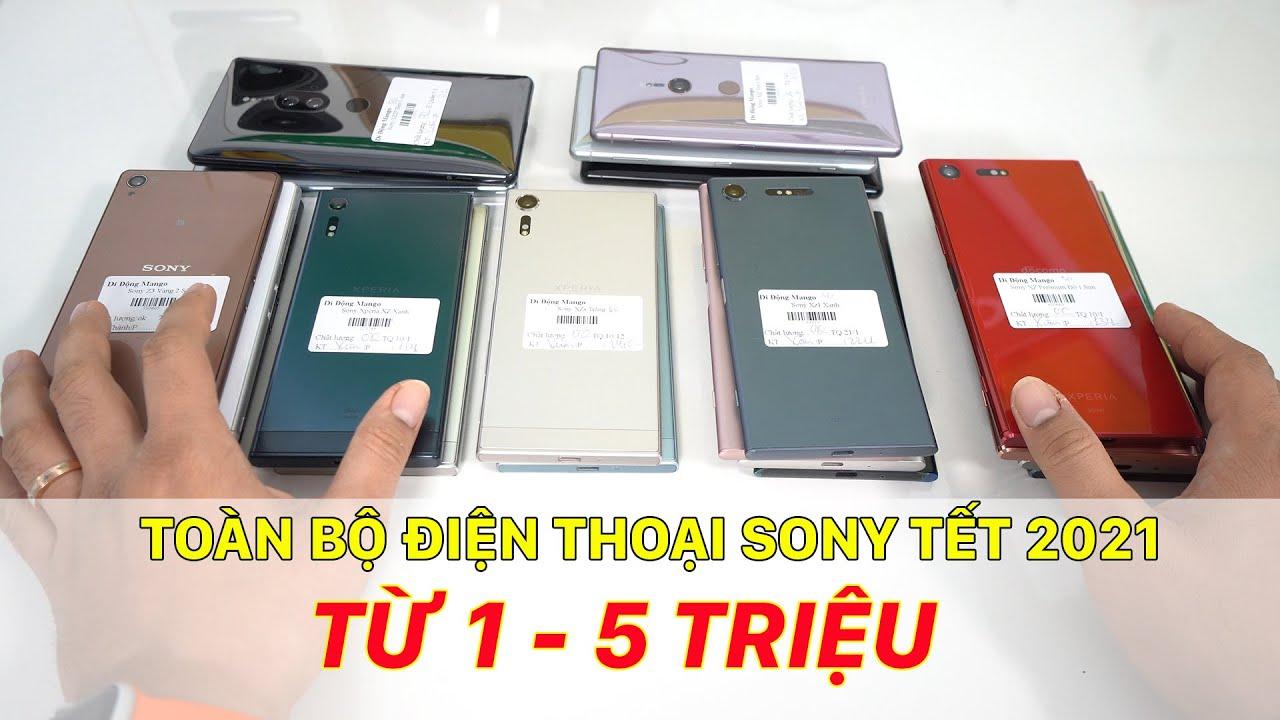 Toàn bộ điện thoại Sony dịp Tết 2021 chỉ từ 1-5tr. Ngon - Bổ - Rẻ là có thật!!!