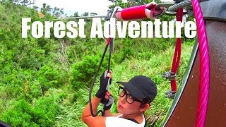 Forest Adventure Park Okinawa Japan 2016 Youtube