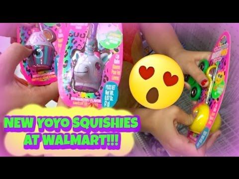NEW YOYO SQUISHIES AT WALMART!! | NEW SLIME HUNTING!!