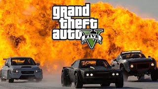 GTA 5 : Fast and Furious 8 ( Форсаж 8 )