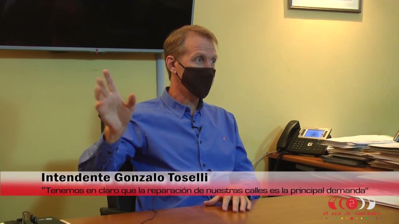 """Intendente Toselli: """"La reparación de las calles es la principal demanda de la comunidad"""""""
