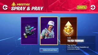 "NEW ""SPRAY & PRAY CHALLENGES"" REWARDS! // Use Code: byArteer (Fortnite Battle Royale LIVE)"