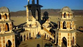 Hot Air Balloon Ride over Burning Man 2011