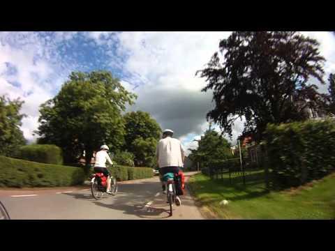 Netherlands Bike & Barge - Hoorn to Enkhuizen - Raw Riding Footage