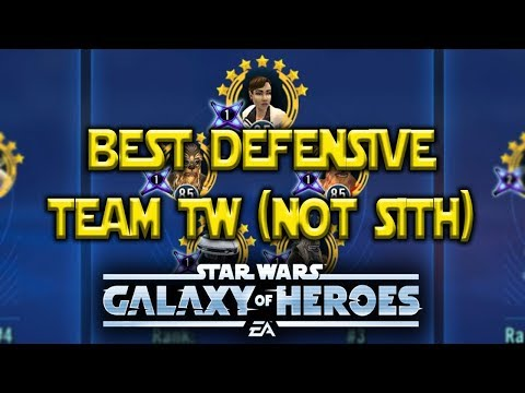 Best TW Defense (other than Traya) Almost Broken - Star Wars: Galaxy Of Heroes - SWGOH