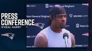 N'Keal Harry: 'I want to help this team win' | Press Conference (New England Patriots)
