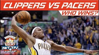 LA Clippers vs Indiana Pacers, Who will win ? | Hoops N Brews