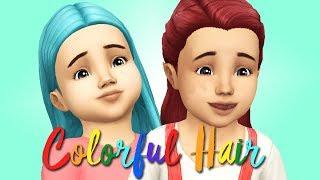 The Sims 4 | ИСПРАВЛЯЕМ БАГ ЦВЕТНЫХ ВОЛОС У ДЕТЕЙ