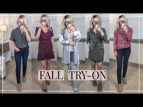 FALL CLOTHING TRY-ON HAUL   Nordstrom, Express, Goodnight Macaroon   Shannon Sullivan