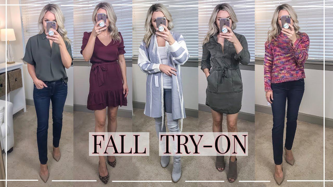 fc4d67d4e8e FALL CLOTHING TRY-ON HAUL