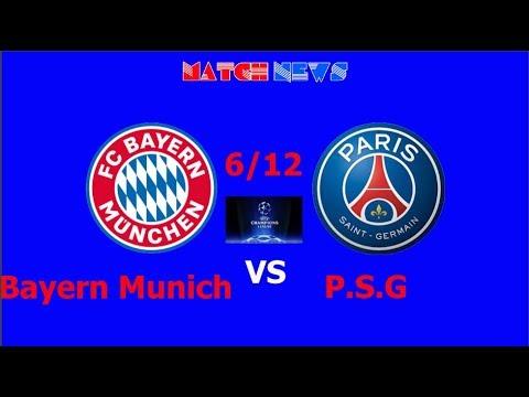 Bayern Munich vs PSG - Highlights HD Predicted Lineup 6 ...