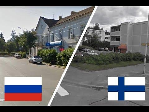 Россия и Финляндия. Старая Русса Иматра. (Sarcasm Video) Russia - Finland. Suomi - Venäjä
