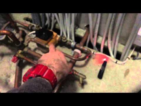 Under floor Heating repair and faulty hot water priority resolved -