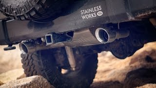 Jeep Wrangler Modular Exhaust Systems