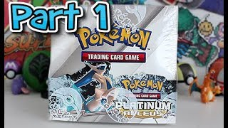 Opening A Platinum: Arceus Booster Box Part 1