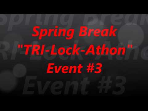 Взлом отмычками Tubular lock   (212) Spring Break Tri Lock Athon Event #3 (Thank you Steel Pinnings and Big Willy For this awesome event.Be Safe and Stay Legal.)