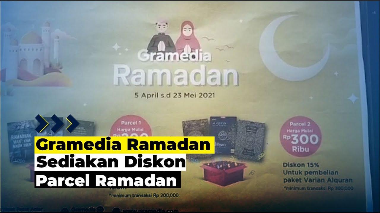 Gramedia Kendari Hadirkan Diskon Parcel Ramadan
