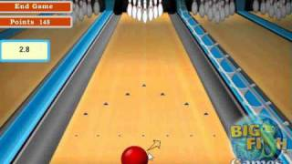 lets play a pc game bowling
