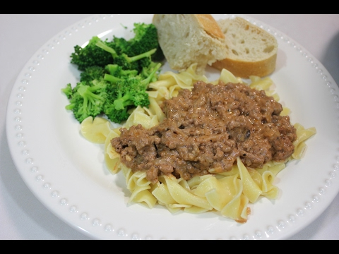 Ground Beef Stroganoff Crockpot Recipe: Ground Beef Crockpot Recipes | Slow Cooker Recipes