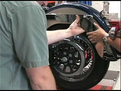 Harley Motorcycle Hitch Installation  Softail  YouTube