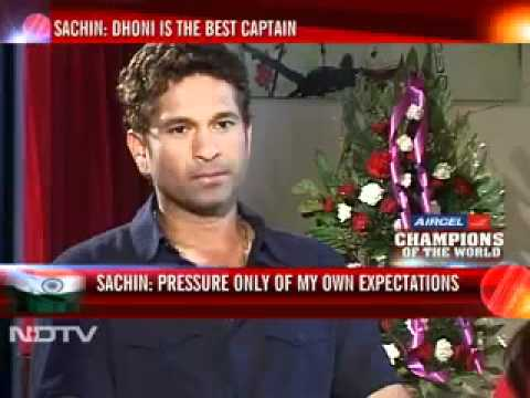 Sachin Tendulkar's  after World Cup 2011 part1