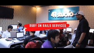 Agile Ruby On Rails & Mobile App Development Company  | 41studio