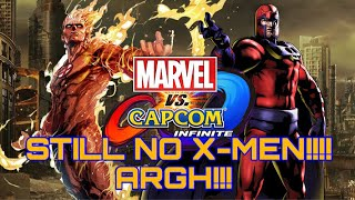 Ultimate Marvel Vs Capcom Infinite X-Men Included / iTUNES GIVEAWAY ANNOUNCED / New Twitter Acct