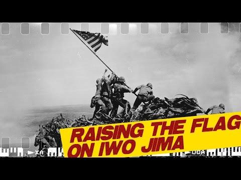 Raising the Flag on Iwo Jima I ICONIC PHOTOGRAPHS #1