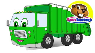 """Counting Garbage Trucks "" 