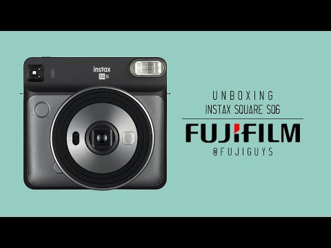 Fuji Guys - Instax Square SQ6 - Unboxing & Getting Started