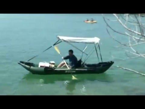 13' PRO Fishing Kayak - 13' PRO Angler Series Inflatable Fishing Kayaks By SATURN