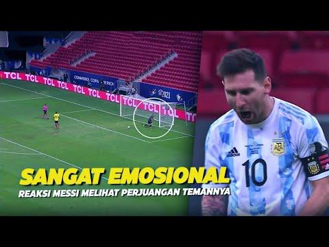 EMOSIONAL !!! Lihatlah Reaksi Messi Pada Emiliano Martinez Usai Mengantarkan Argentina Ke Final