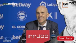 Rueda de prensa de David BETTONI post Alavés 1-4 Real Madrid (23/01/2021) #AlavesRealMadrid