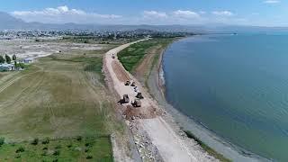 Tuşba Belediyemiz tarafından yapılan İskele Sahil yolu çalışmalarımız tüm hızıyla devam ediyor