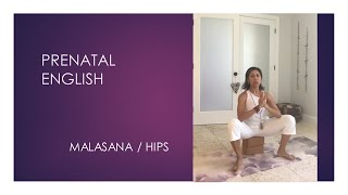 What yoga movements open the hips during pregnancy? - English Series - video 3