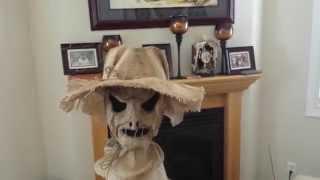 Burlap scarecrow.