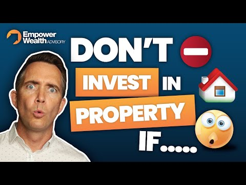 5 Reasons Why You Shouldn't Invest In Property - Property Investment in Australia