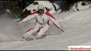 Урок 24.1❄Горные лыжи обучение❄ Карвинг на горных лыжах(6)