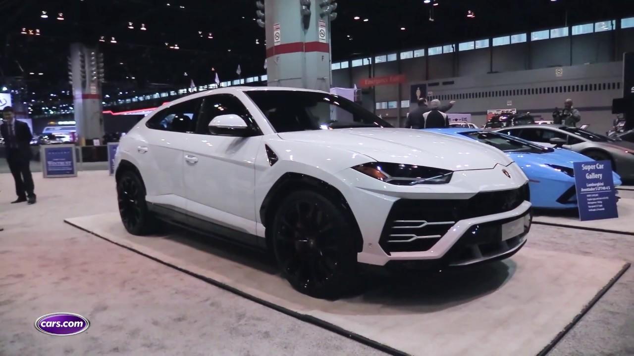 2019 Lamborghini Urus First Look – Cars.com - YouTube
