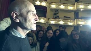 Пётр Мамонов - Севастополь,Общение с фанатами после концерта (21.10.2016)