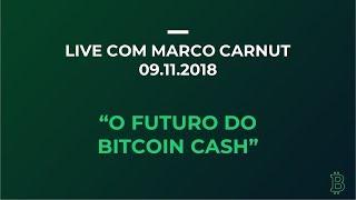 O futuro do Bitcoin Cash - Live com Marco Carnut
