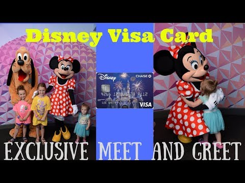 Disney World Visa Card Meet and Greet