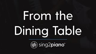 From the Dining Table (Piano Karaoke Instrumental) Harry Styles