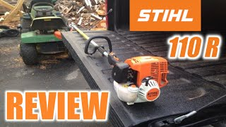 Review on Stihl FS 110R Trimmer(This is a review on the Stihl FS 110 in action! See Matt go crazy with the weedeater, cutting everything in sight!!, 2013-10-12T20:03:53.000Z)