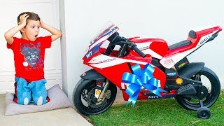 Tema ride on toy Sportbike & Pretend Play with toys